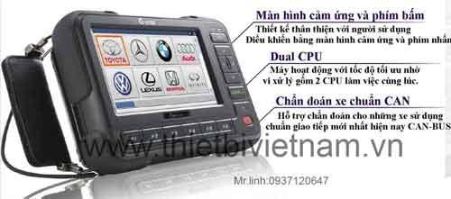 Thiết bị đọc lỗi hộp đen ô tô và các cảm biến trên ôtô cho xe du lịch hiện đại