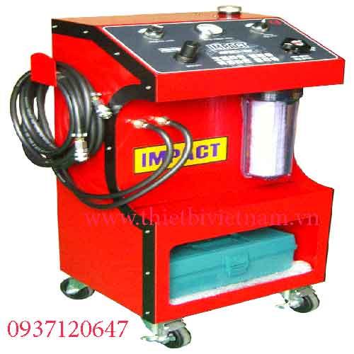 Thiết bị làm sạch đường dầu bôi trơn và họng hút khí nạp động cơ kết hợp IMPACT 400