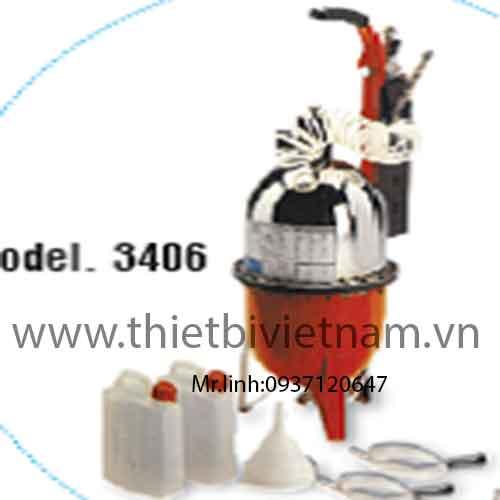 Thiết bị thay dầu phanh xách tay Flexbimec 3406 +3474